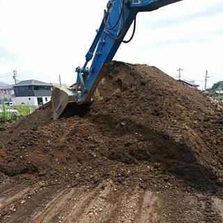 埋め立て用残土、土、庭土、差し上げます。配達できます(別途…