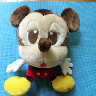@値下げ@ミッキーマウスぬいぐるみ(大きいサイズ)