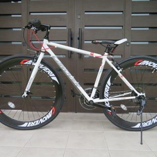 ロードバイク 700C 21段 変速 CANOVER CAC-0...
