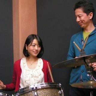 楽しいドラムレッスン☆某有名テーマパークバンド出身の講師が教えます♪