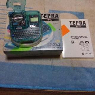 テプラ プロ SR232