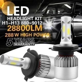 LEDヘッドライト(2個セット)110W H4タイプ