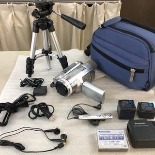 Panasonic ハンディービデオカメラ セット【美品】