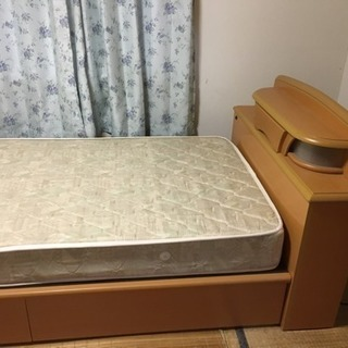 ☆商談中☆   中古美品  シングルベッド