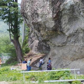 外岩でボルダリングやクライミング 南会津