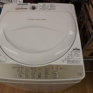 TOSHIBA 東芝 洗濯機 AW-4S3 4.2kg  2016...