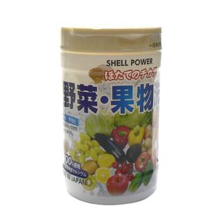 ☆ホタテの力 野菜・くだもの洗い  100g入り×10個セット