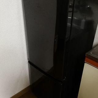 三菱電機 冷蔵庫ラウンドカット 146L 2012年製