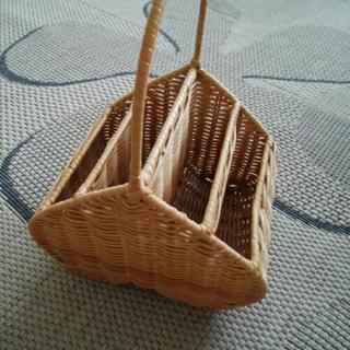 リモコンスタンド(籐製)