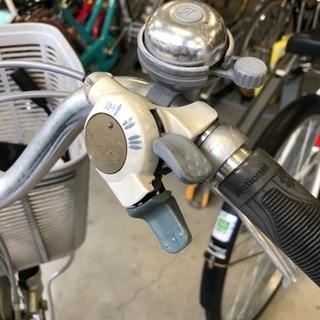 *お取引中*パナソニック 電動自転車26インチ バッテリー充電器あり。値下げしました! - 自転車