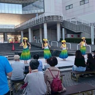 フラダンス教室 あざみ野 子供クラス 2018年10月~子供たち...