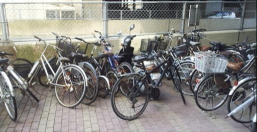 集合住宅の放置自転車回収管理 (...