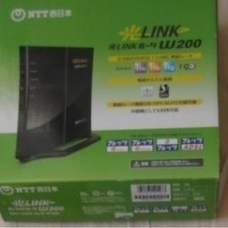 NTT西日本 光LINKルータ W200