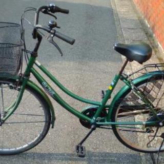 ジャンク 中古自転車 グリーン