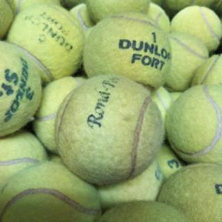 中古テニスボール120個