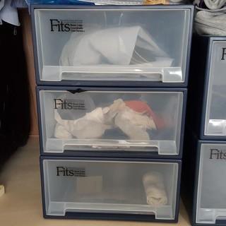 ◆Fitsの収納ケース、ロングL、3個