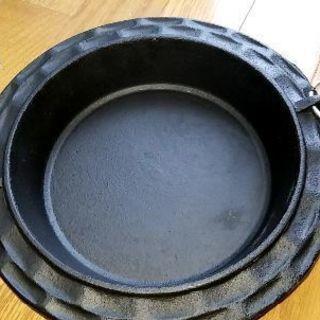 鉄鍋中古美品