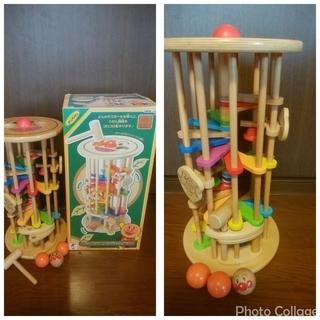 アンパンマン 木のコロコロにじいろタワー 知育玩具