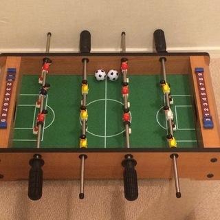 ドイツで購入した木製サッカーゲーム(価格の相談応じます)