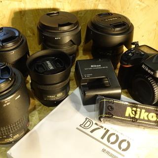 デジタル一眼レンズ5本セット Nikon D7100 Nikko...