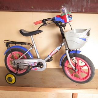 子供用自転車 ウルトラマンティガ 14インチ 補助輪付き 14×17.5