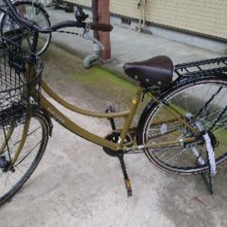 自転車  26型  使用期間半年未満