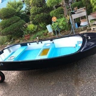 ケンタートル11FRPボート2馬力免許不要艇