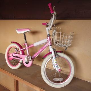 子供用自転車 DUALLY GIRL 16インチ 16×17.5...