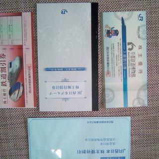 【JR西日本株主優待 鉄道博物館割引券セット】2019年5月31日...