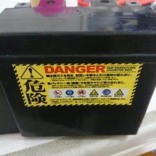 保証付き新品バッテリー 液入り充電済み