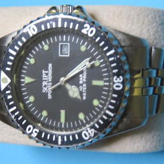 近頃流行りの時計です。