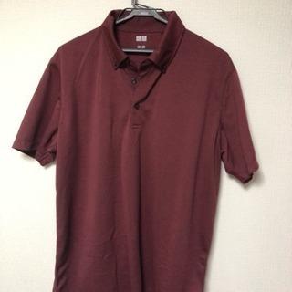 UNIQLO ポロシャツ ワインレッド XLサイズ