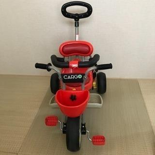 【美品】三輪車 アイデスカーゴ 赤