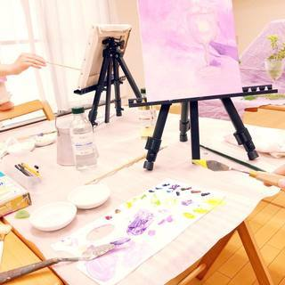 初めての油絵~自分のお気に入りを描こう!