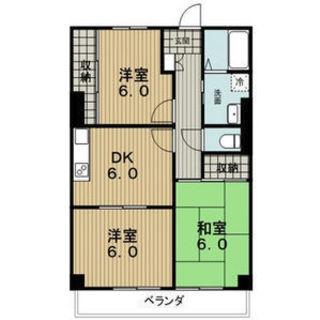 ☆稲沢市 最上階 3DK 敷金0 礼金0 保証金0 仲介手数料0
