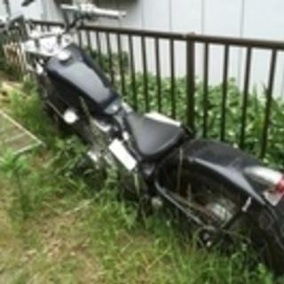 動かないバイク等引き取ります。