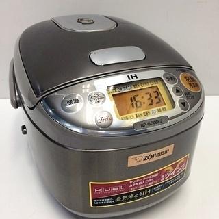 象印 IH炊飯器 NP-GG05E2 2016年製