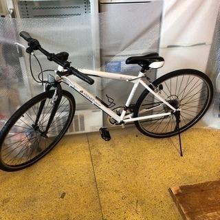 ほぼ未使用 クロスバイク 27インチ 6速 自転車 仕上がりました