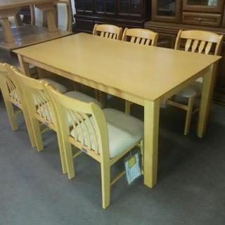 ダイニングテーブル  椅子6脚付き