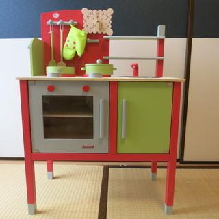 トイザらス限定 木製ビストロキッチン 木製玩具「ジャノー」 子供...