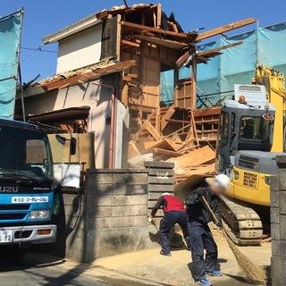 建物を壊す方のお仕事、解体作業員を募集しております!