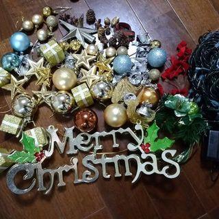 クリスマスツリーの飾り差し上げます