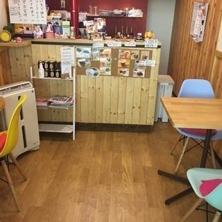 オープン前のカフェスペース貸します❣️