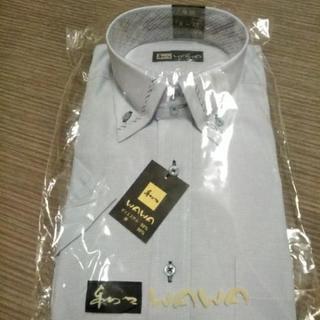 メンズワイシャツ半袖Sサイズ