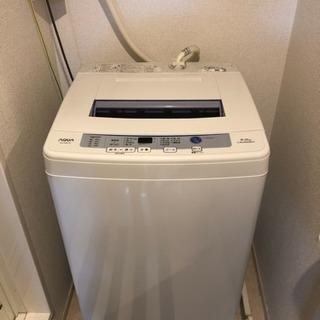 洗濯機 AQUA S60E 6kg
