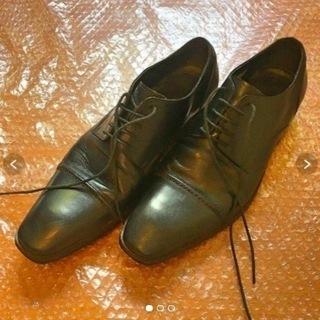 【中古】IMGN 革靴 25cm ブラック