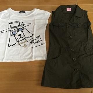 コムサ Tシャツ ワンピース 110㎝セット