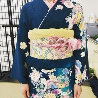 【出張着付け】着物(訪問着/留袖) 袴 浴衣 振袖 承ります :首...