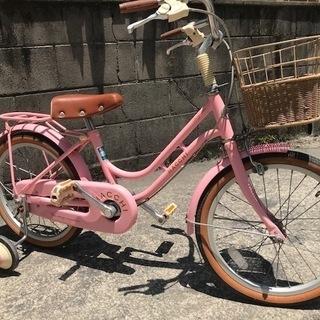 きれいな子供用自転車 ブリヂストン 18インチ BAA  ハッチ ...
