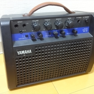 YAMAHA ギターアンプ VA-10 ヤマハ ポータブル 電池...